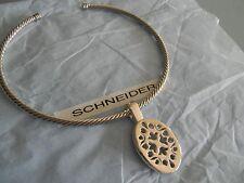 Premier Designs FIRST CHOICE PHOENIX silver gold filigree collar necklace RV 49