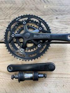 Shimano FC-2203 Triple 8 Speed Chain Wheel Set And Bottom Bracket