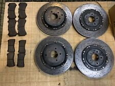 Brembo Front And Rear Rotors/ Brake pads R35 Nissan GTR 2015