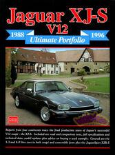 JAGUAR XJS BOOK PORTFOLIO BROOKLANDS ULTIMATE 1988-1996 XJ V12 V-12 RS