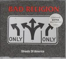 BAD RELIGION CD-MAXI STREETS OF AMERICA ( WIE NEU)