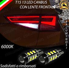 LAMPADE RETROMARCIA 13 LED T15 W16W CANBUS PER SEAT ATECA 6000K NO ERROR