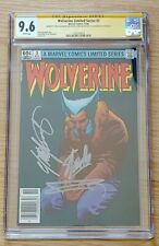 Wolverine Limited Series #3 CGC 9.6 STAN LEE FRANK MILLER CLAREMONT NEWSSTAND