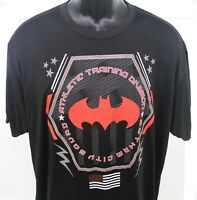 Batman Athletic Training Division Gotham City Squad Black T Shirt Adult Size XL