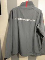 Porsche Driver's Selection Men's L Softshell Jacket- Rennsport Reunion VI