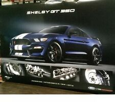 2018 FORD MUSTANG SHELBY GT350 24X36 POSTER