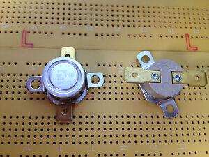70°C Thermostat Bi Metallic NO Temperature Switch 2455RP 9100-444 F70C Multi Qty