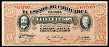 MEXICO  - TWENTY  PESOS  BANKNOTE
