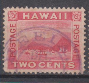 HAWAII Sc 81 - HEEIA OAHU TOWN CANCEL - VF USED