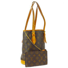 LOUIS VUITTON BUCKET PM SHOULDER TOTE BAG PURSE MONOGRAM akp M42238 A51955