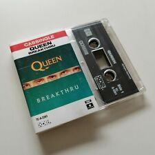 QUEEN Breakthru AUS Cassette Single FREDDIE MERCURY BRIAN MAY ROGER TAYLOR