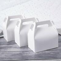 24pc White Paper Treat Boxes DIY Party Favor Bags Wedding Favors Party Supplies