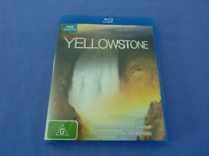 Yellowstone Blu-Ray BBC Earth Free Tracked