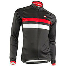 Bellwether Legacy Men's Long Sleeve Road Cycling Jersey Black Large