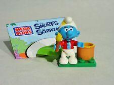 Mega Bloks - Schlümpfe - Schlumpf als Maler mit Pinsel - NEU Smurf