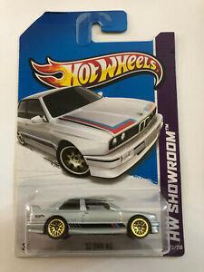 HOT WHEELS SILVER 1992 '92 BMW M3 HW SHOWROOM 172/250