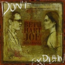 HART,BETH & BONAMASSA,JOE  - DON'T EXPLAIN  CD NEU