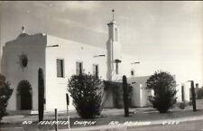 Ajo Arizona AZ Federated Church Real Photo Postcard