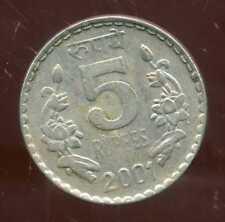 INDE 5 rupees  2001 ( bis )