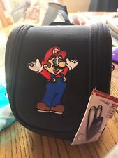 NINTENDO 3DS 3DS xl DS -Super Mario Deluxe Game Traveler Case Bag Pouch Backpack