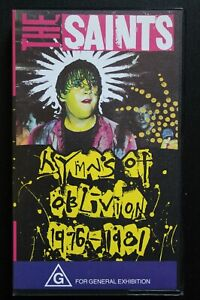 The Saints - Hymns Of Oblivion 1977-1981 (VHS, PAL) (HPV 014)