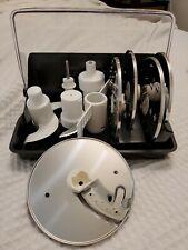 Magimix Food Processor Accessory 4mm 2mm Slicer Dough Egg Blade Parmesan Mini Bo
