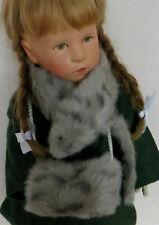 Alte Puppenkleidung Füchslein Kragen und Muff