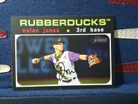 Nolan Jones RC 2020 Topps Heritage Minor League #127 Cleveland Indians Rookie