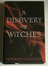 SIGNED, LINED, DATED 1st UK Deborah Harkness A Discovery of Witches NEW & UNREAD