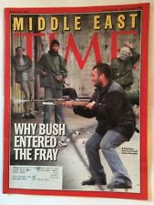 MIDDLE EAST TIME MAGAZINE MARCH 25 2002 VERY GOOD