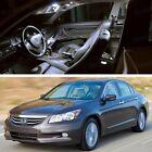9Pcs LED SMD White Light Interior Bulb Kit SET for 2008-2012 Honda Accord Sedan