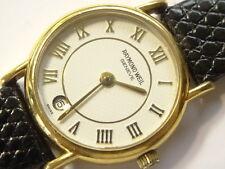 Raymond Weil Model 9923 18K Electroplated Quartz Date Watch