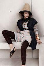 BNWT MARNI H&M NAVY LONG SLEEVELESS DUSTER JACKET COAT UK8 EUR 34 US 2