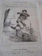 Caricature 19èm Iles Marquises l'origine d'une étymologie Chez le Coiffeur