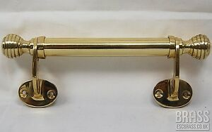 2x Ornate Window handles beehive ends traditional Victorian Reproduction 185mm.