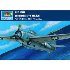 Trumpeter 02223 1/32 Grumman F4F-4 Wildcat Fighter Assembly Aircraft Model Kits