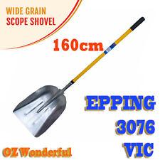 160cm Aluminum Wide Scope Shovel Grain Shovel Hay Food Shovel Fiberglass Handle