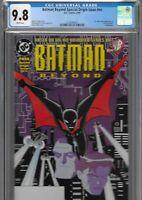 Batman Beyond 1 CGC 9.8 WP DC 1st Print Terry McGinnis 1999 NNO PROMO VARIANT