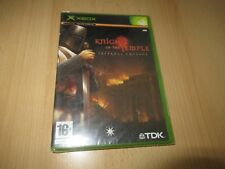 Knights of the Temple  Xbox PAL  new sealed pal version