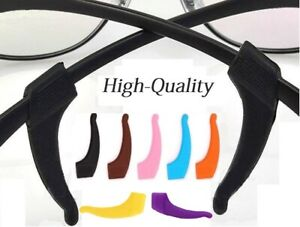 Sportbügelenden / Fassungshalter / Brillenhalter - 1 oder 2 Paar Anti-Rutsch NEU