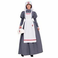 Guerra Civil Enfermera Adulto Mujer Disfraz Nuevo Tamaño Estándar
