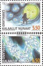 Denemarken - Groenland 414-415 (compleet.Kwestie.) postfris MNH 2004 Nordic Myth