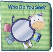 baby book cloth book baby toys Who Do You See? It is a new book never been used