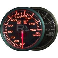 Prosport 45mm Oil Temperature Deg C Gauge Amber / Clear Stepper Motor