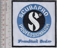SCUBA Diving USA Scubapro Franchised Dealer ''Professionalism'' Patch 4.25in
