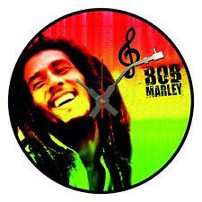 Iconic Bob Marley vinyl record wall clock -  Unique Xmas Gift