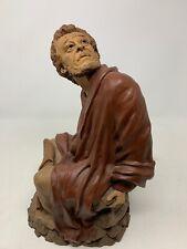 Cairn Tom Clark Signed Abraham The Apostle Catholic Statue Figurine Signature