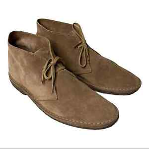 J. Crew Macalister Desert Boots New in Box Suede