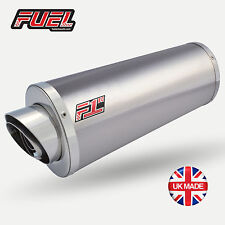 Transalp XL600V 87-99 F1R Road Brushed S/S Oval Mini UK Street Legal Exhaust Can