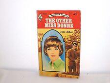THE OTHER MISS DONNE by Jane Arbor (Harlequin Romance #1544, November, 1971)